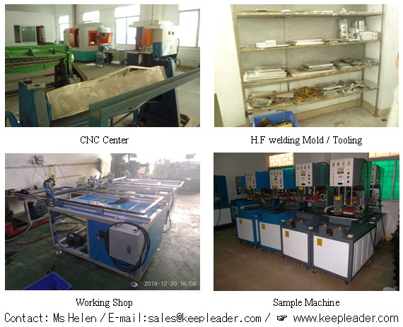 Automatic High Frequency PVC PU Welding Machine